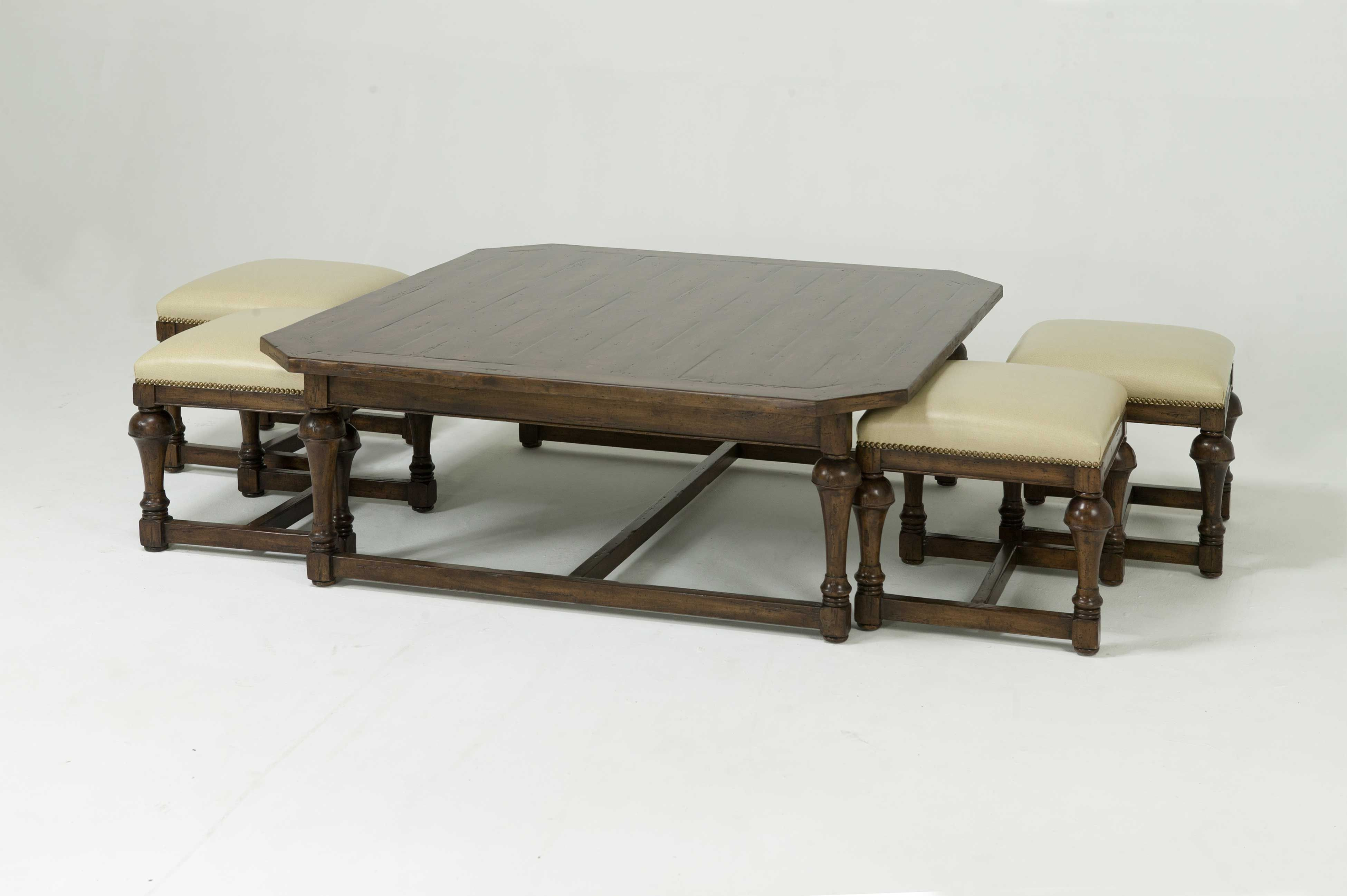 how to make an upholstered ottoman coffee table | Minimalist Home ...