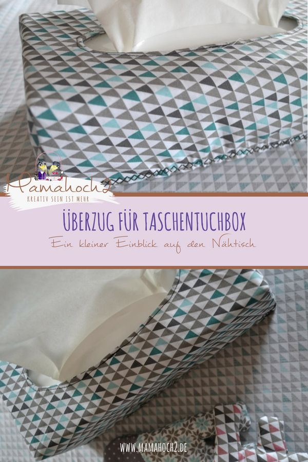 Photo of Baby set # 9 – cover for the tissue box on the changing table ⋆ Mamahoch2