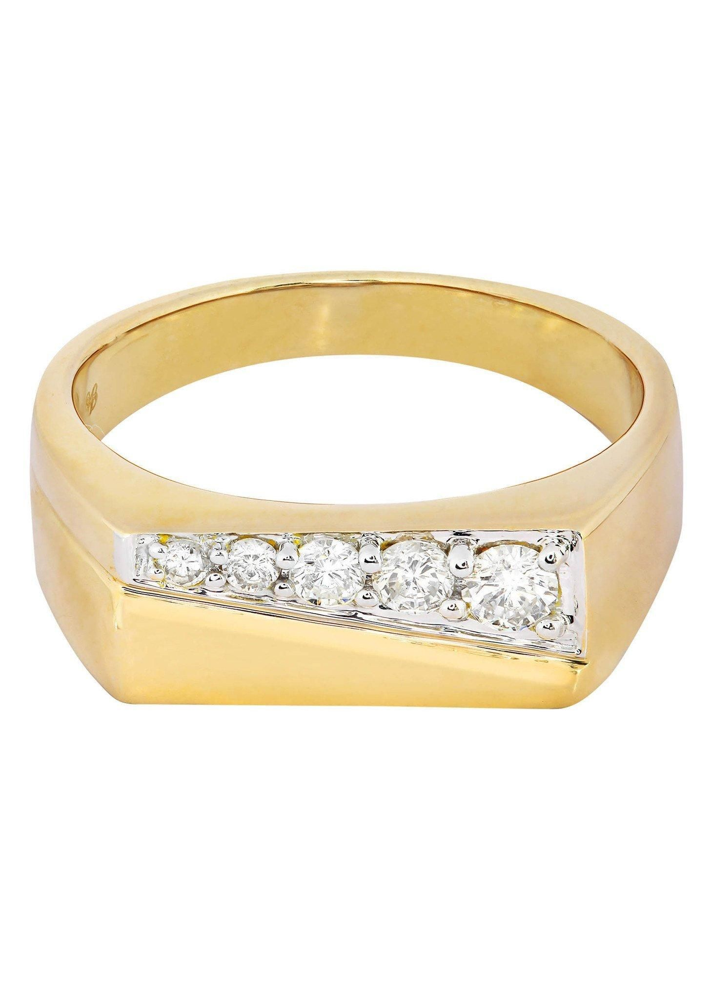 Frostnyc frost nyc mens diamond pinky ring carats