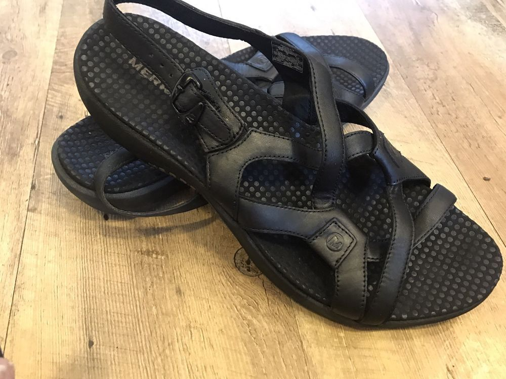 9588332539f9 Merrell Agave Leather Strappy Sandals Black Womens Size 9 EU 40  fashion   clothing  shoes  accessories  womensshoes  sandals (ebay link)