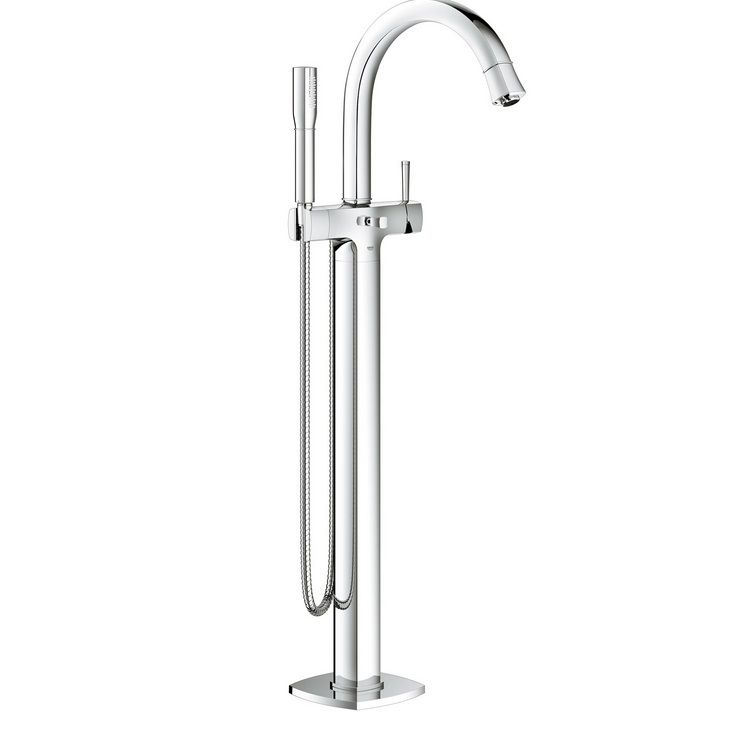 Grohe Spa Grandera Floor Standing Single Lever Bath Shower Mixer Tap ...