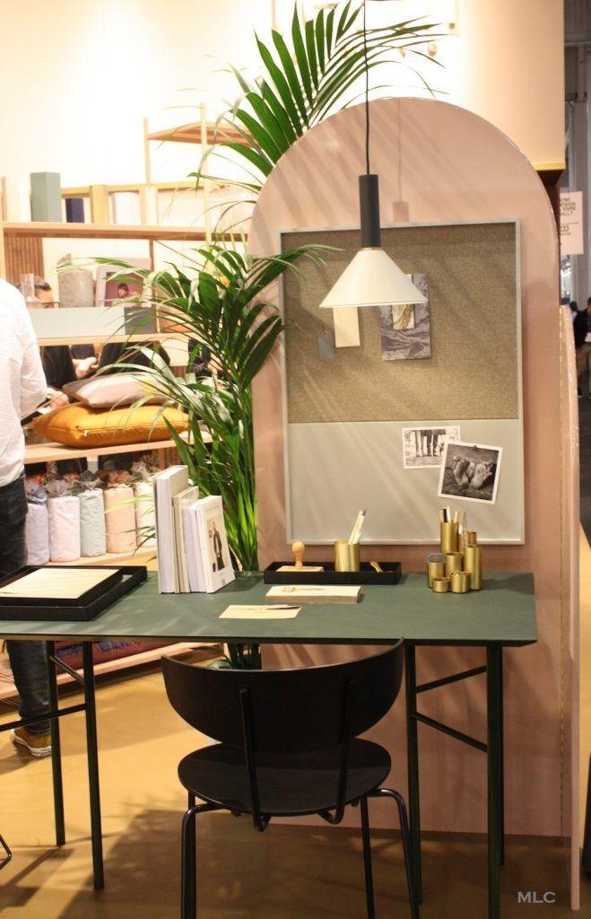 les nouvelles tendances d co de maison et objet 2017 2018 bureau at work pinterest. Black Bedroom Furniture Sets. Home Design Ideas