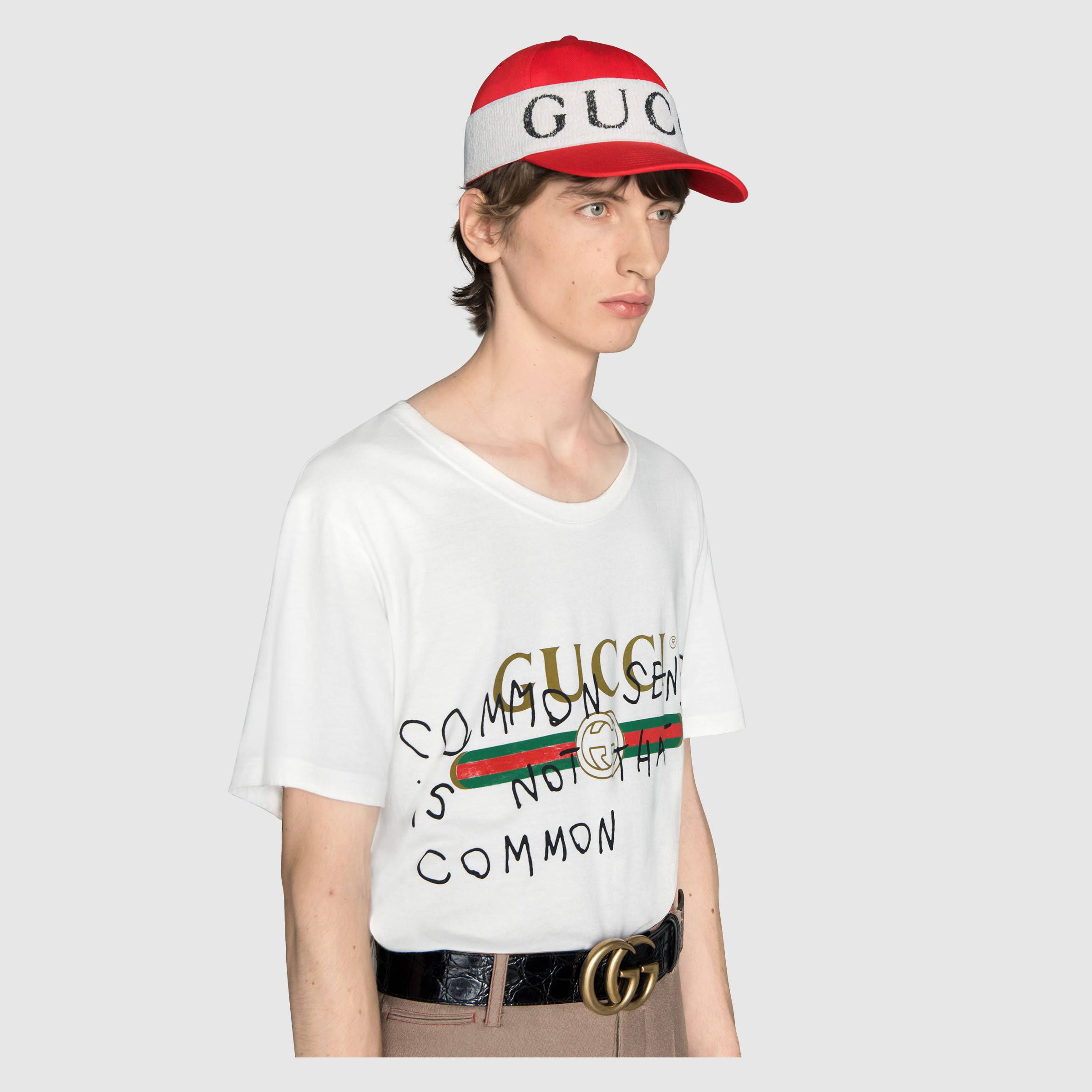 4da97ef1c3e Baseball hat with Gucci headband - Gucci Men s Baseball Caps 4925454HC566477