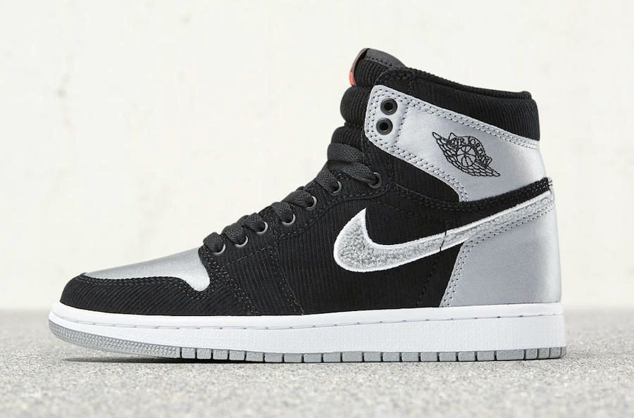 reputable site 2fb19 3edc7 Air Jordan 1 Retro High OG Aleali May Black Silver For Sale