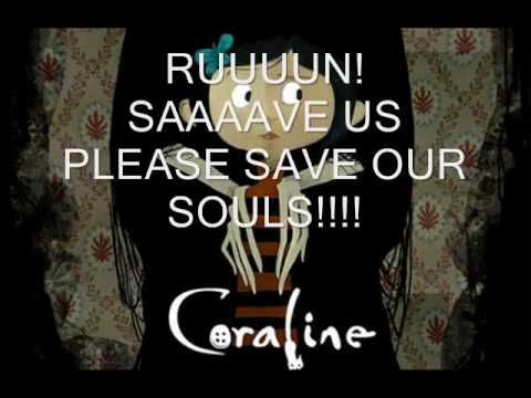 Coraline- ending credits with lyrics in english - YouTube
