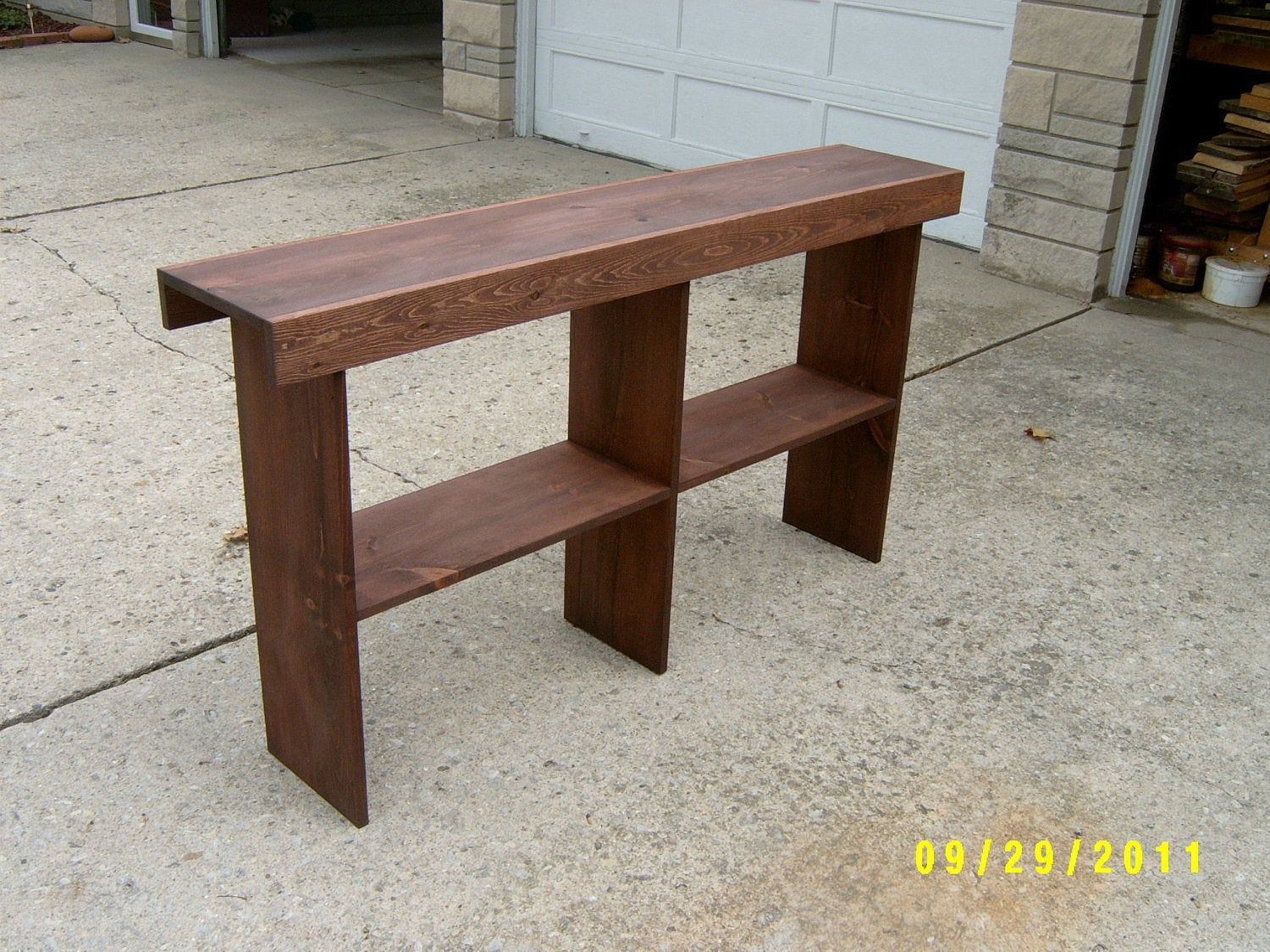 Wooden Bench Tall Bench Console Entryway Table Recycled Material Custom Made Farmhouse Style Wooden Bench Entryway Tables Bench