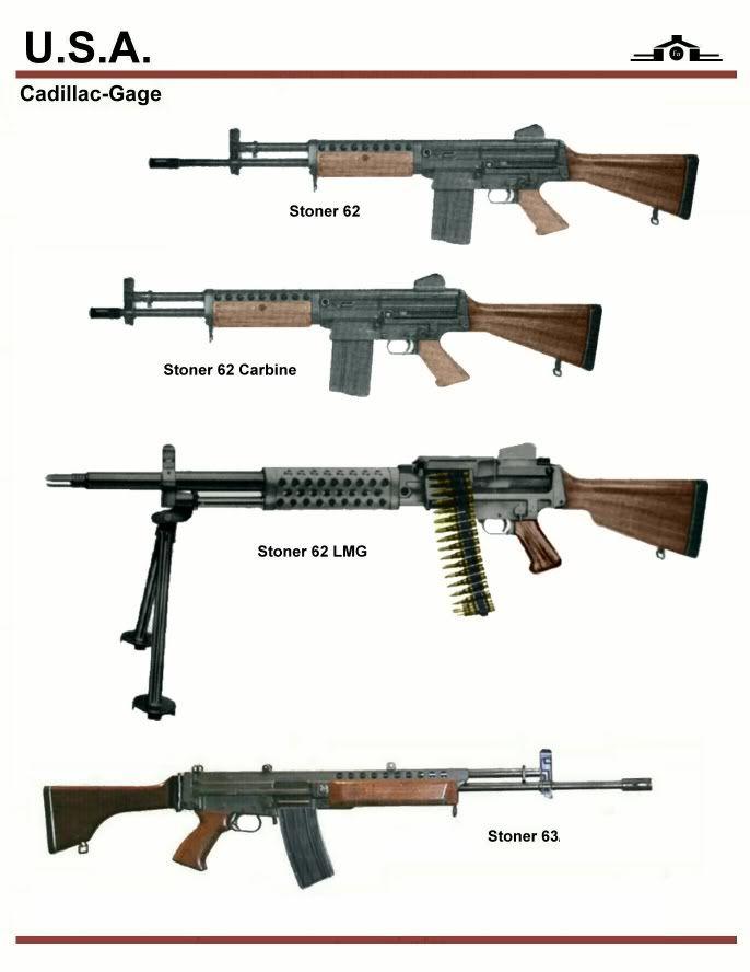 Stoner 62 prototype rifles weaponry pinterest guns weapons stoner 62 prototype rifles thecheapjerseys Choice Image