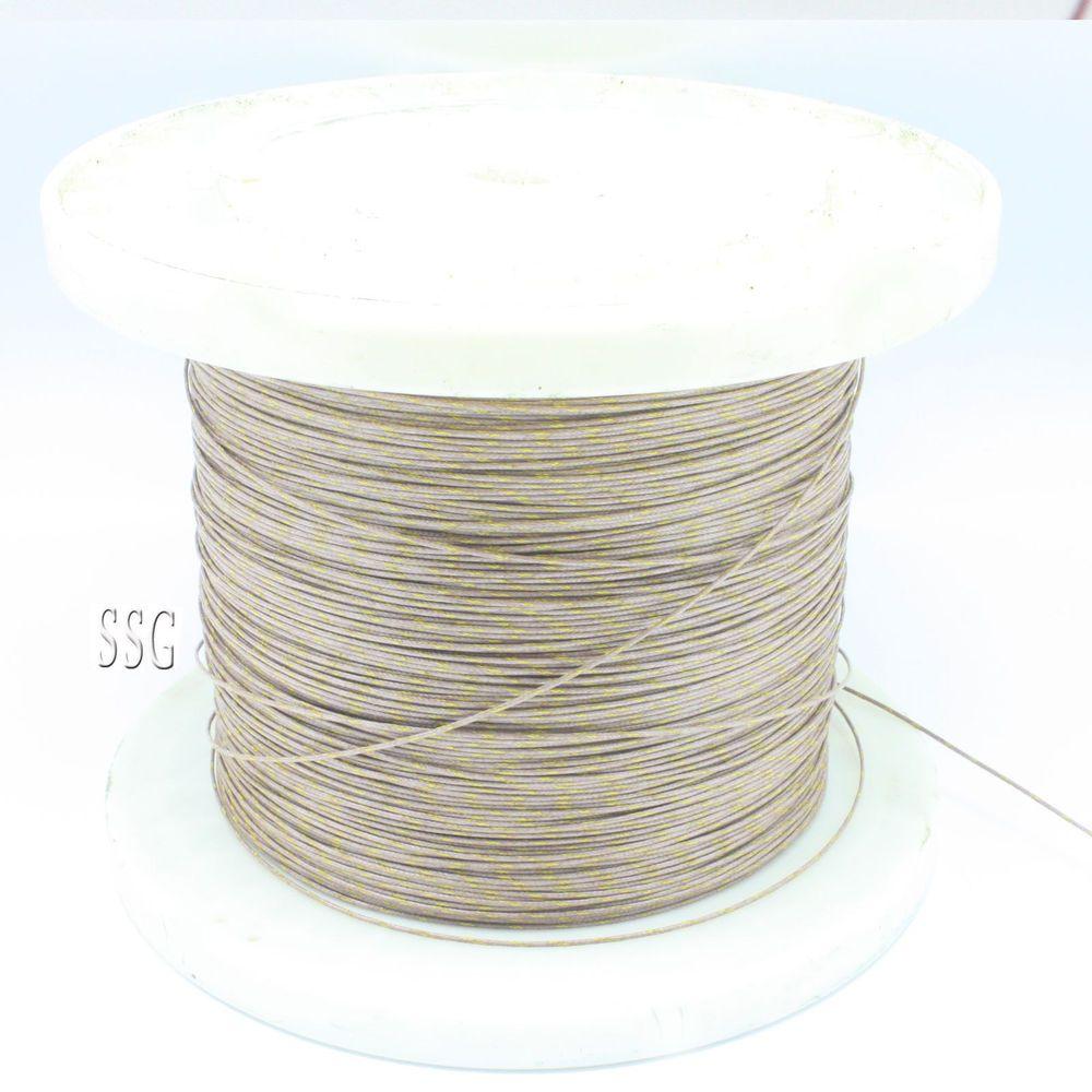 SSG GG-K-30-SLE Thermocouple Wire,K Type Duplex Insulated 32/495 ...