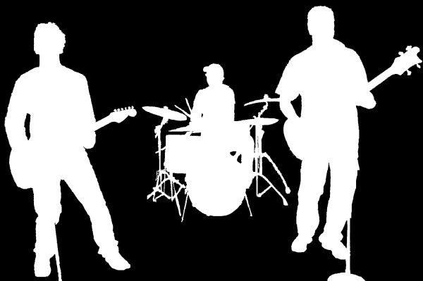 silhouette band profile 1920's - Google Search