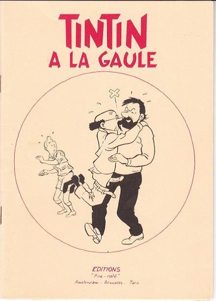 Les Aventures De Tintin Album Imaginaire Tintin A La Gaule Bande Dessinee Tintin Herge