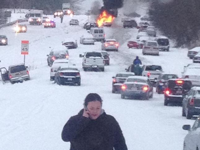 Snowpocalypse Raleigh