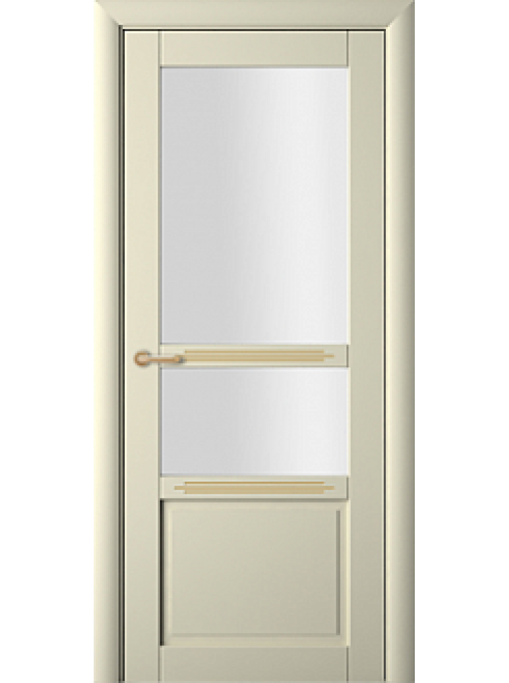 Sarto perfecto interior door beech ivory with caramel