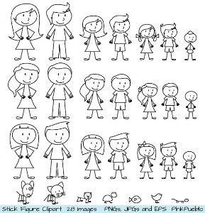 Stick Figure Clipart Clip Art Stick People Family Stick Figure Drawing Stick Figure Family Stick Figures