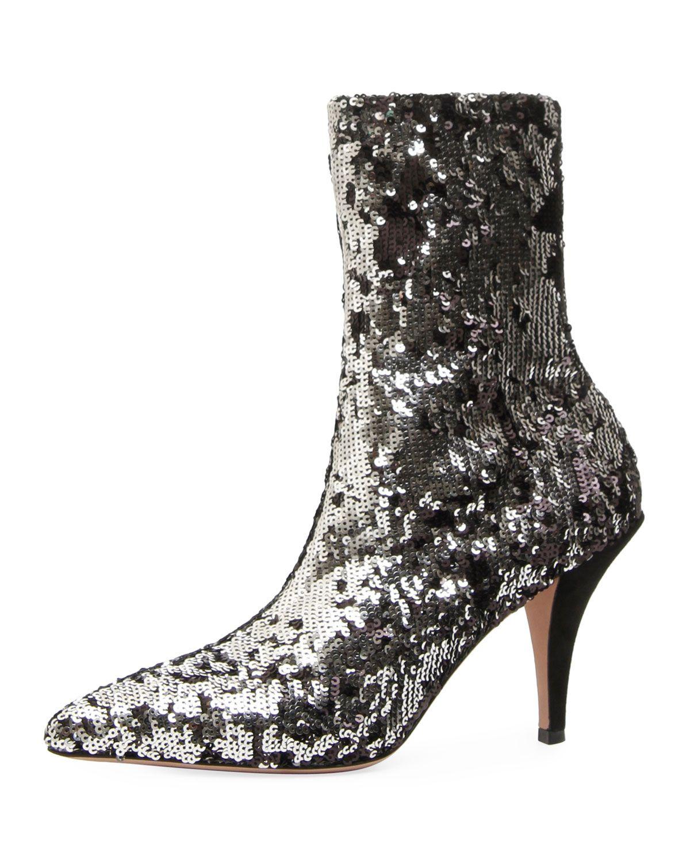 Valentino Liquid Metallic Boots