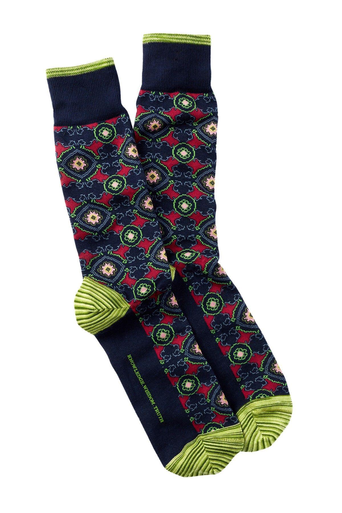 Robert Graham Pasquino Crew Socks | Robert graham, Socks and Crew socks