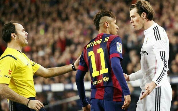 El Clasico Brawls #Neymar