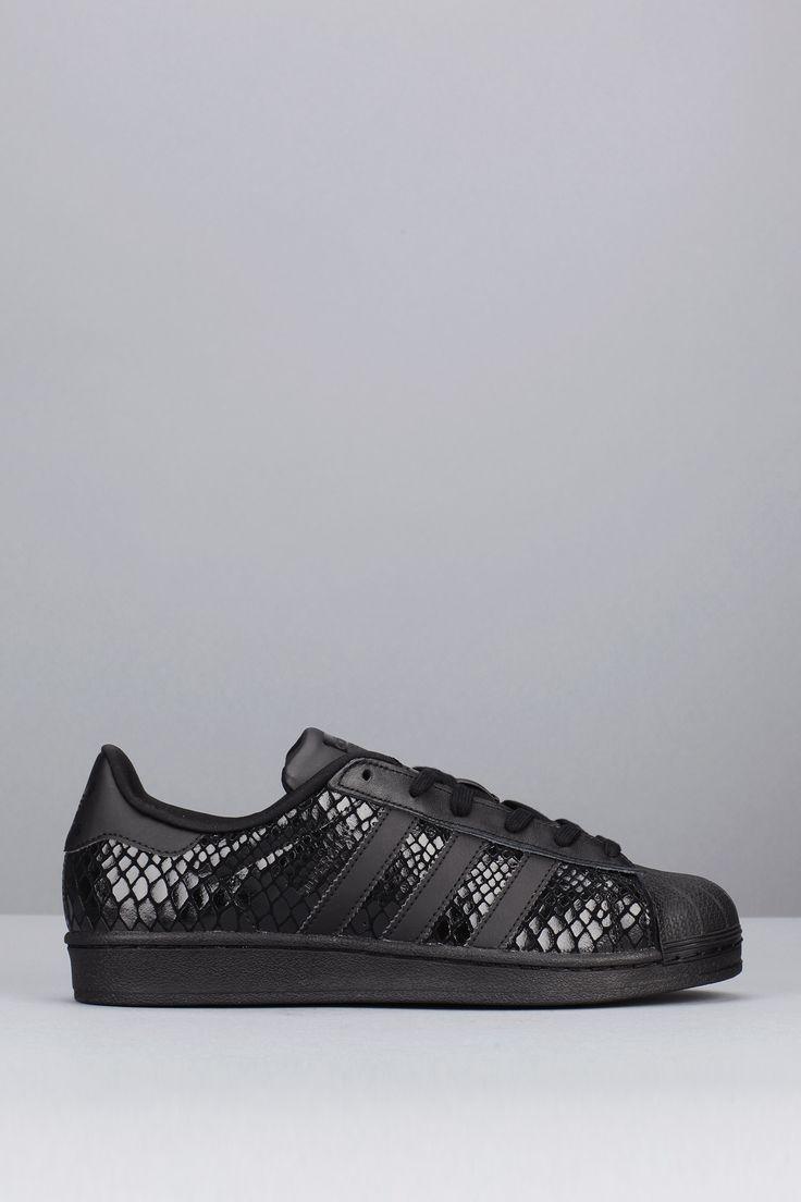 adidas superstar noir reptile