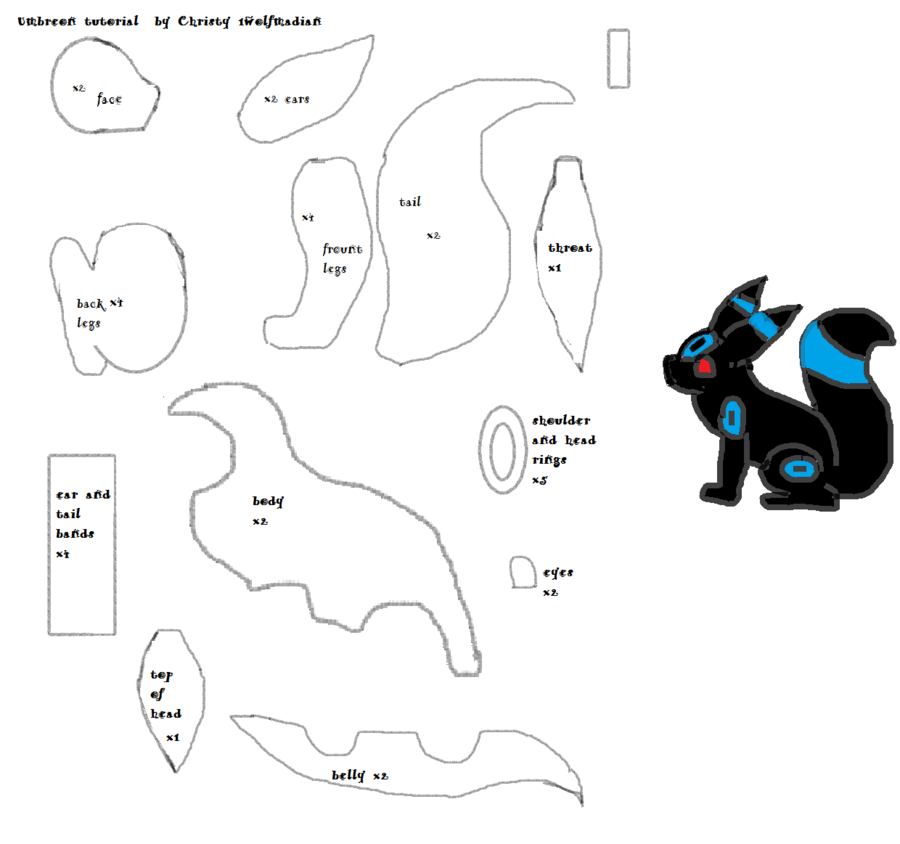 Pokemon Plushie Patterns   deviantART: - 164.2KB
