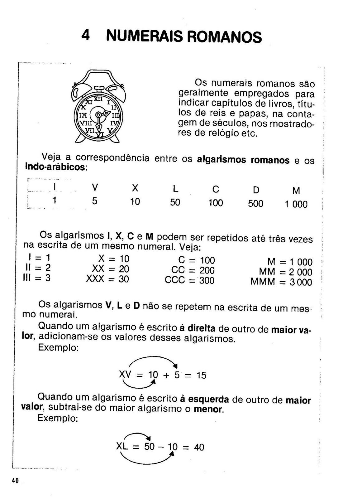 Oioooo Jpg 1085 1600 Algarismos Romanos Numeral Romano