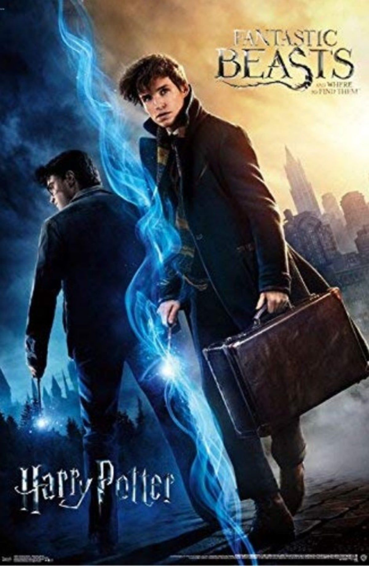 Fantastic Beasts Harry Potter Poster Harry Potter Movie Posters Harry Potter Poster Harry Potter Movies