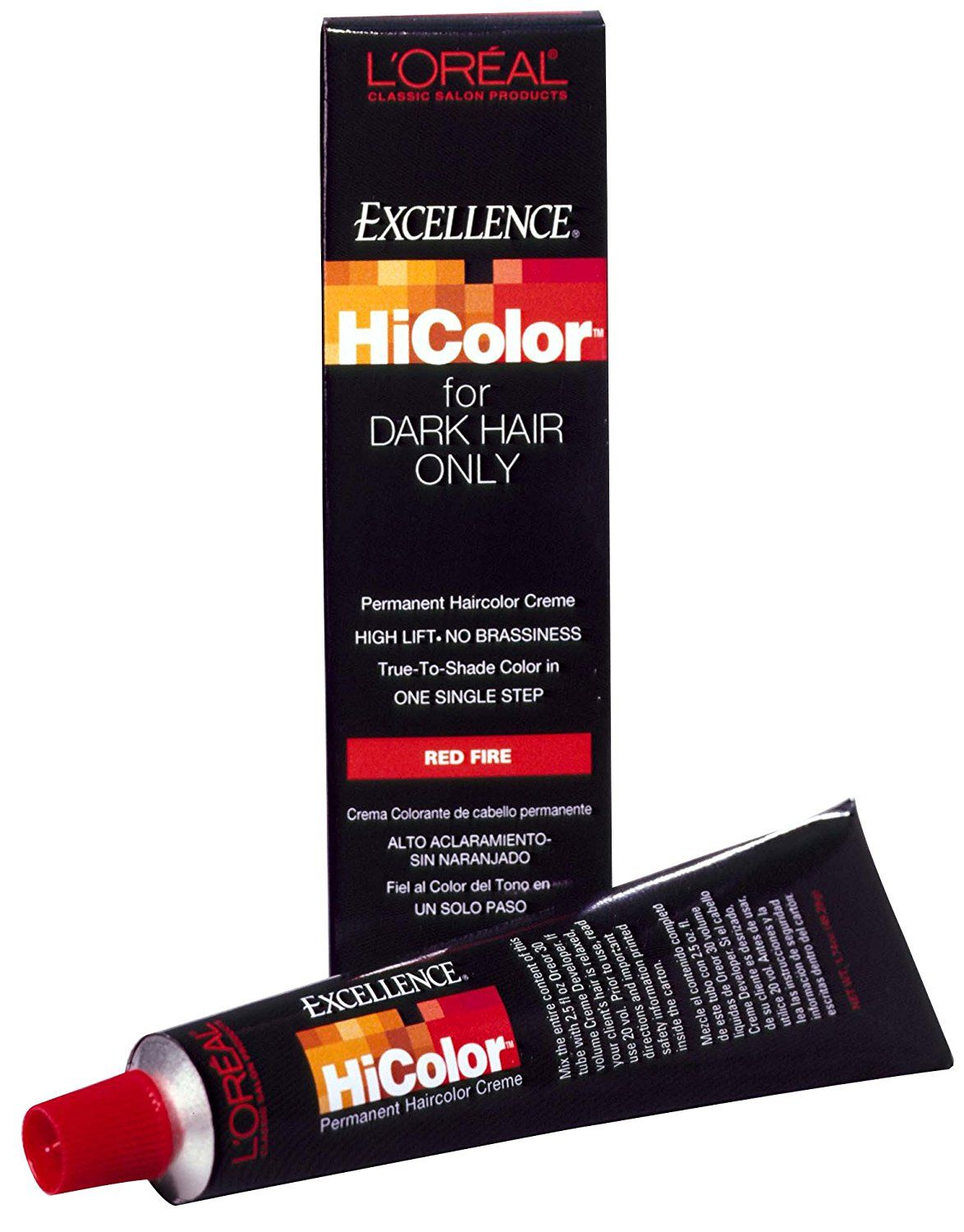 Loreal Excellence Hicolor Hair Color Red Fire 174 Oz Pack Of 2