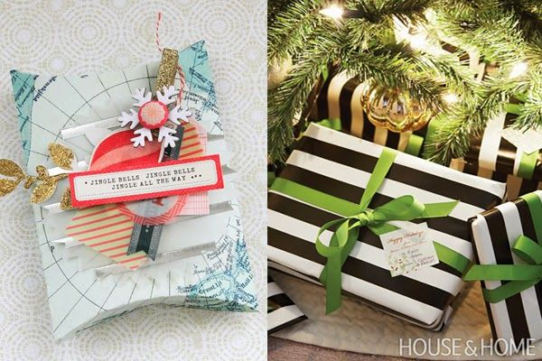 30 Ideas for Wrapping Gifts this Christmas - Heart Handmade uk