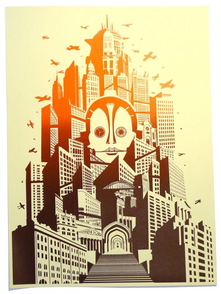 Print Club London | Metropolis poster