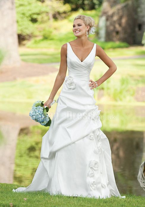 Wedding Dress Styles For Broad Shoulders Collar Is The Key To Success Of Beauty