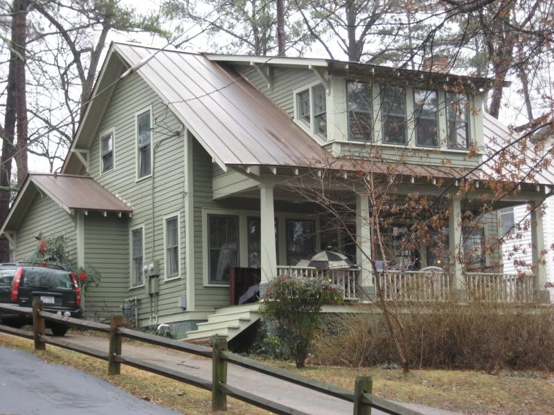 An Abundance Of Sears Homes In Raleigh Nc Sears Modern Homes Craftsman House Metal Roof Houses House Exterior