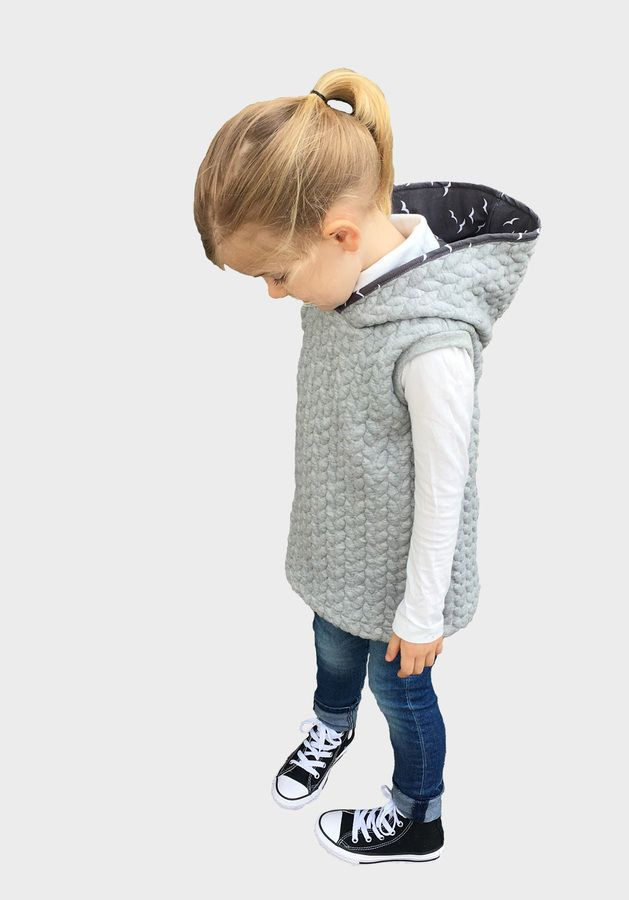 Photo of Sewing pullover with hood for children – sewing pattern and sewing instructions via Ma …