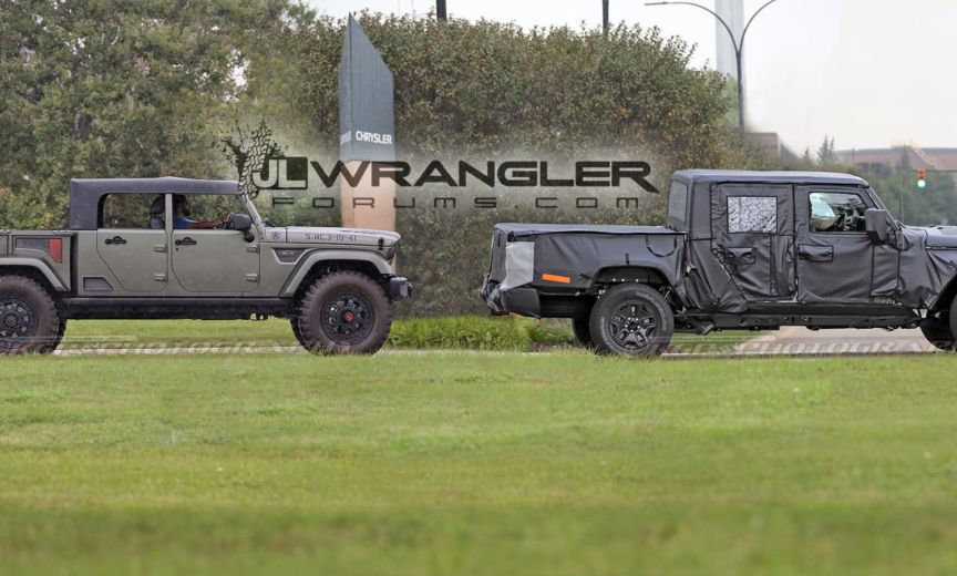 More Confirmation Of 2019 Jeep Scrambler Pickup Soft Top And
