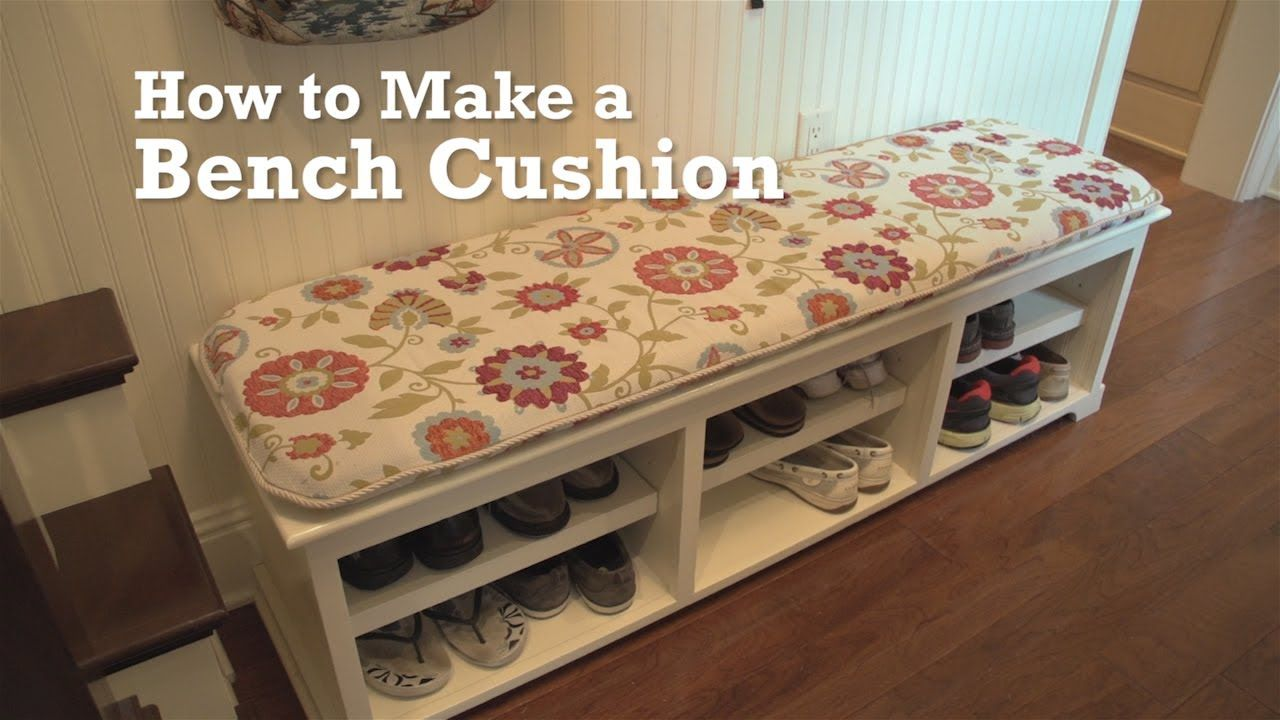 How To Make A Bench Cushion Awesome But I M Pretty Sure I Need