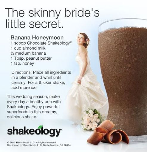 Honeymoon Shakeology Recipe FIND ME @ www.facebook.com/...