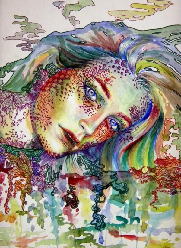 Mixed Media Drawings By Callie Fink Cuded Drawings Artist Painting Artist