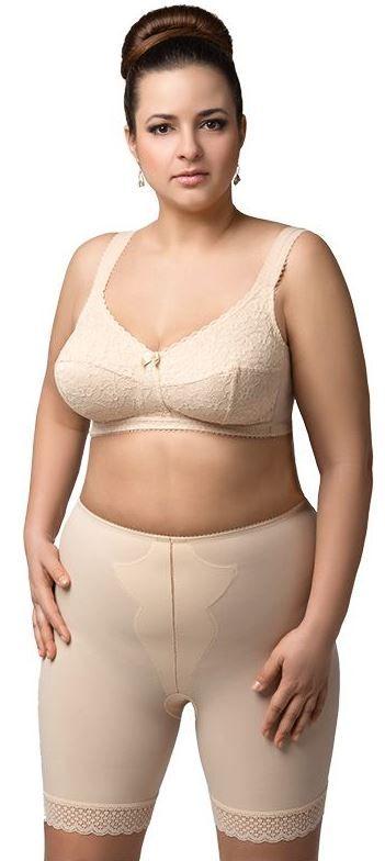 Long leg panty girdle   matching bra  973192779
