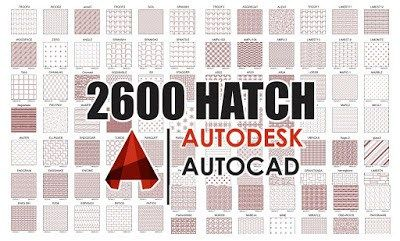 2600 Autocad Hatch Patterns Free Download How To Add With