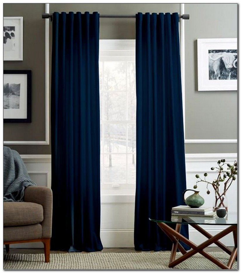 Navy Blue Curtains For Living Room Blue Curtains Living Room
