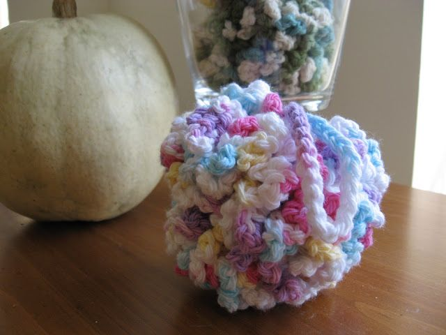Lyanna Jean Designs Crochet Shower Puff Knitting Crochet