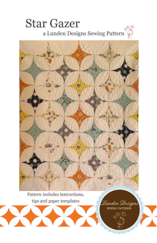 Star Gazer Quilt Pattern - PDF door Lunden op Etsy https://www.etsy ...