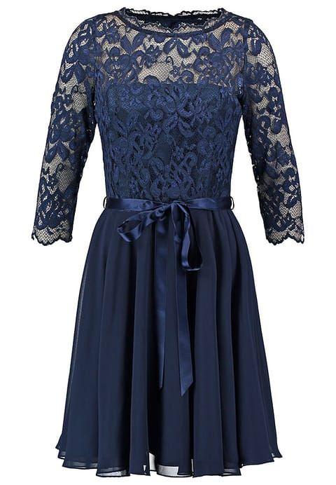 1aafcadc21e86a Das passende Kleid für viele Gelegenheiten. Swing Cocktailkleid   festliches  Kleid - dark blue für 149
