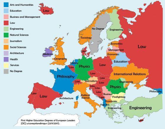 Liderite V Evropa Mnogo Yuristi I Samo Edin Pozharnikar Karta