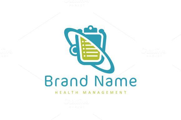 Hospital logo design health care