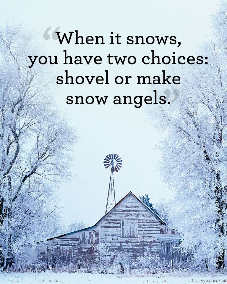 best winter quotes to help you see the beauty of every snowfall