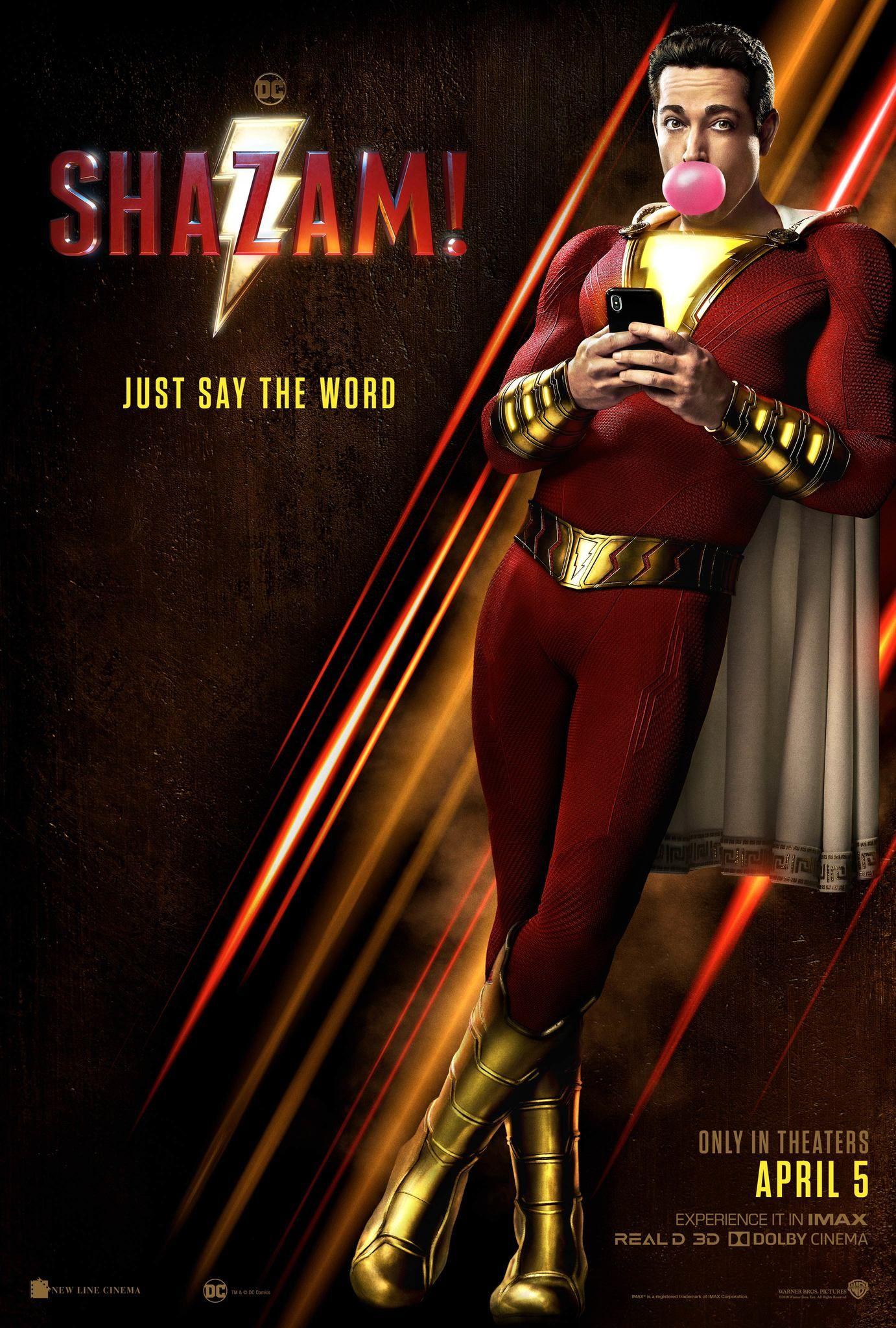 ADVANCE SCREENING SHAZAM! Shazam movie, Zachary levi