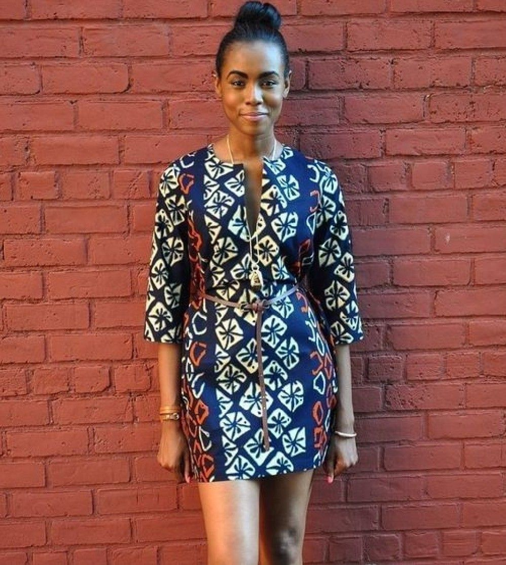 Beautiful And Stylish Short Ankara Gowns #kitengedesigns