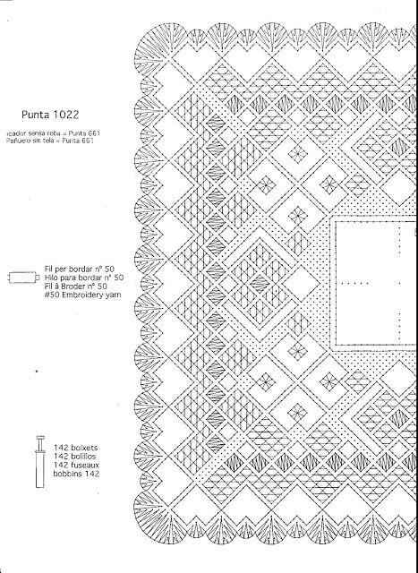 PAÑUELOS DE BOLILLOS - maria baron - Álbumes web de Picasa