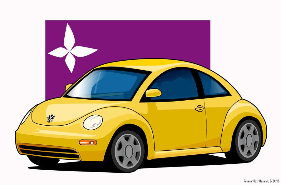 Drawing a cartoon VW beetle* requested video ? - YouTube