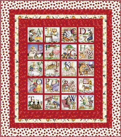 hungry animal alphabet quilt - Google Search   Quilts   Pinterest ... : alphabet baby quilt pattern - Adamdwight.com