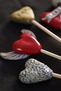 Ceramic Art Hearts http://projecthopeart.org/fundraising-and-philanthropy/art-hearts/