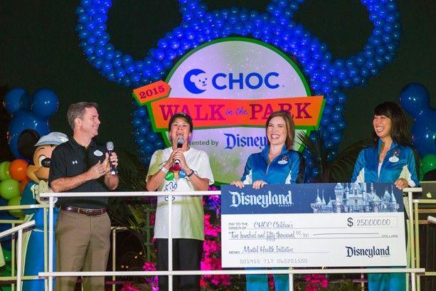 Disneyland Resort Celebrates 25th Anniversary of CHOC Walk in the Park with $250,000 Gift « Disney Parks Blog
